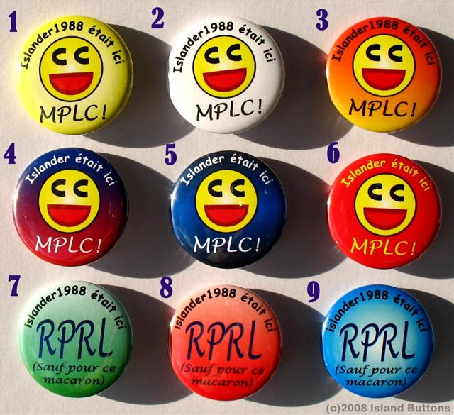 Geocaching Button Set 82a (25 Macarons, 1 Design Personnel)