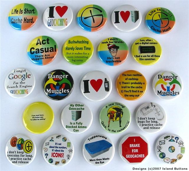 [Picture of Geocaching Magnet Set 4]